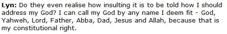 MalaysiaKini - Yahweh, Jesus, Allah sama
